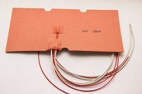 Blurolls 24V 130W Silicone Heater Mat Heating Pad For CTC Replicator 3D Printer Heatbed With 3M