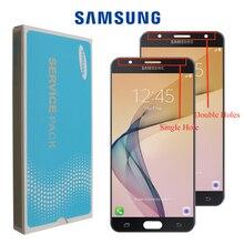 Yeni orijinal 5.5 samsung LCD Galaxy J7 başbakan ekran G610 G610F dokunmatik ekran digitizer ekran J7 başbakan yedek LCD