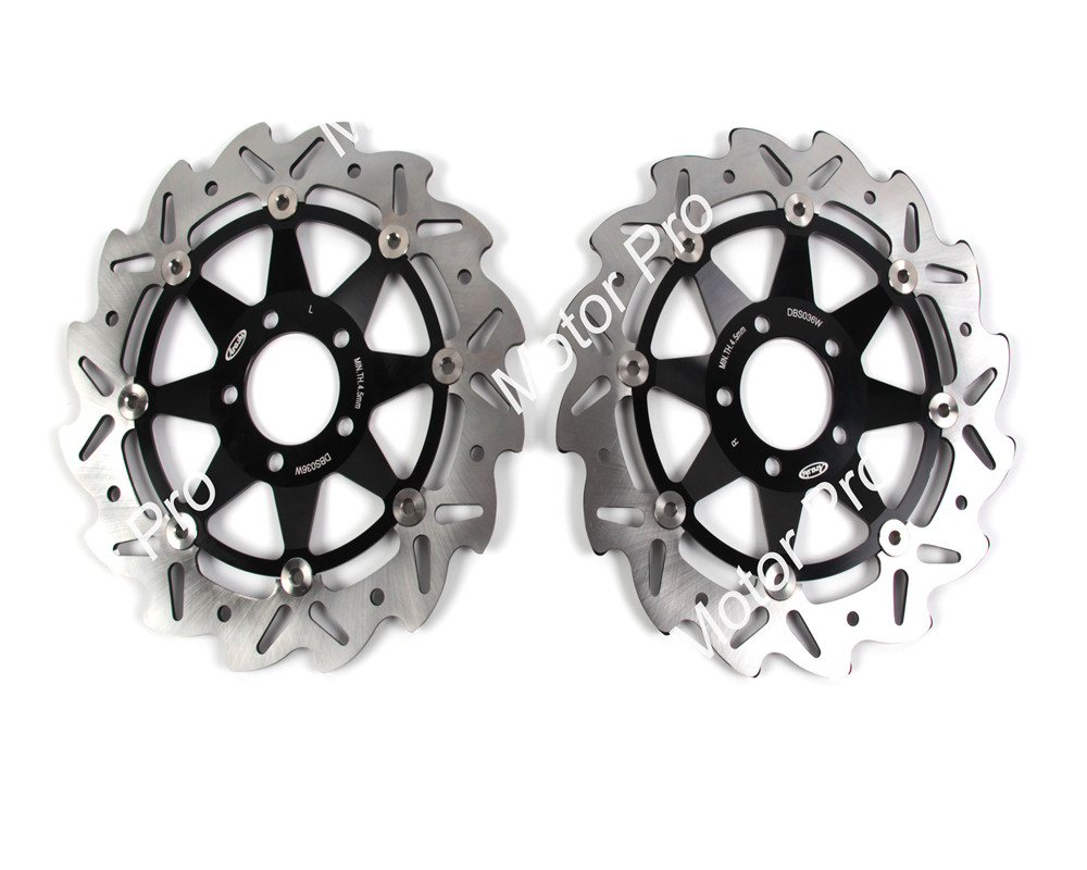 2 PCS CNC Motorcycle Front Brake Disc FOR KAWASAKI GTR 1000 1994-2002 2003  2004 2005 2006 Z1000 NINJA ZX12R brake disk Rotor