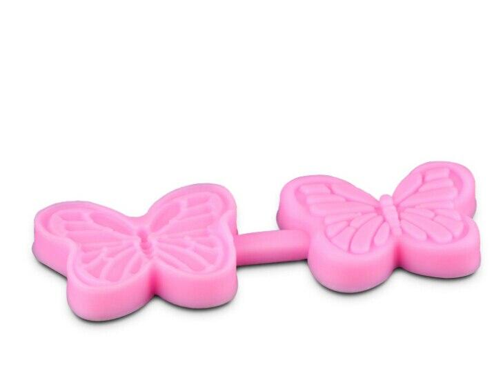 Envío libre 3D pastel de silicona fondant en forma de mariposa DIY ...