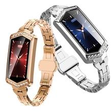 B78 Smart Bracelet Women Fitness Watch Heart Rate tracker Monitor blood pressure oxygen Smartwatch for girlfriend