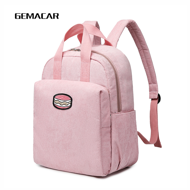 Winter Pop Female Backpack Cute Bright Fleece Young Girl Fashion Dating Bag Woman High Capacity Casual