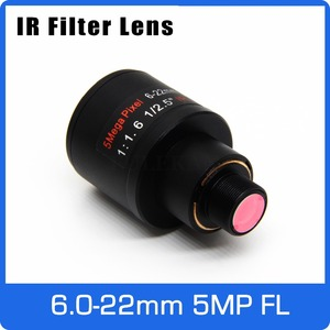 Image 1 - 5 メガピクセルバリフォーカルレンズ ir フィルタ 6 22 ミリメートル M12 マウント 1/2 5 インチマニュアルフォーカスとズームアクションカメラ長距離ビュー