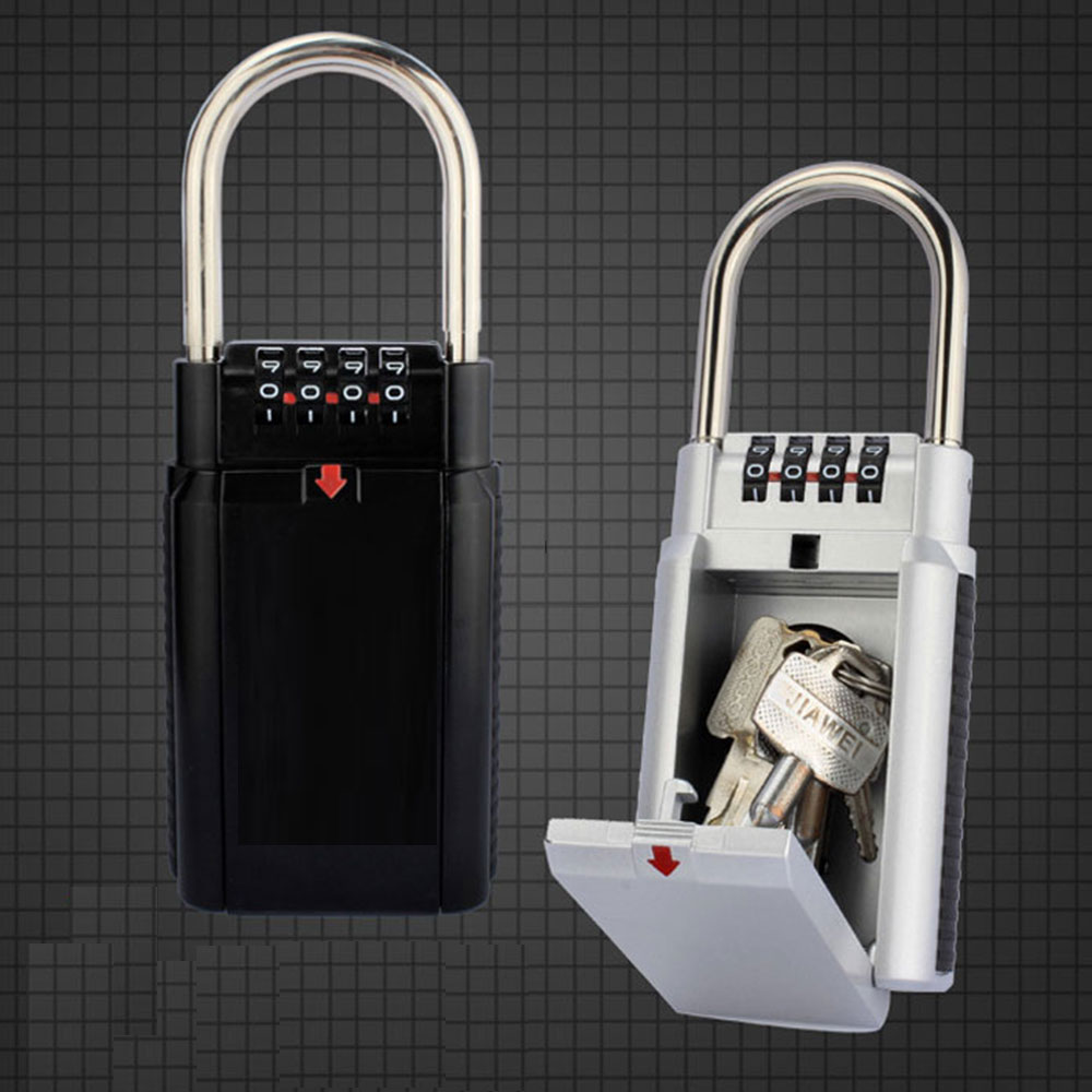 Metal mechanical password door lock key storage box travel office fitness backpack suitcase safety lock in Access Control Keypads from Security Protection