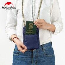 Купить с кэшбэком Naturehike Multifunction Waterproof Passport Wallet Bag Outdoor Travel Bags Card Bag Documents Credit Cards Wallet Small Satchel
