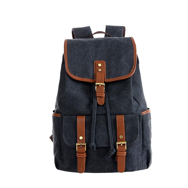 Brand Design Travel Backpack Large Capacity Canvas Women Men Backpacks Vintage Casual Students School Bag For Woman Man one2 2017 new design flamingo vintage school bag women bag men s laptop backpack for computer university students boys man