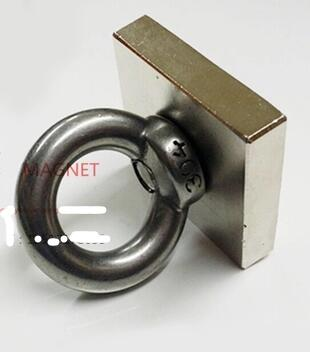 1pcs Ture N50 Block 40 x 40 x 10 mm  Salvage magnetic Super Strong high quality Rare Earth magnets Neodymium Magnet 40*40*10 mm 100pcs 3 x 1 0mm super strong magnets rare earth magnet set diy wide use magnetic gadgets