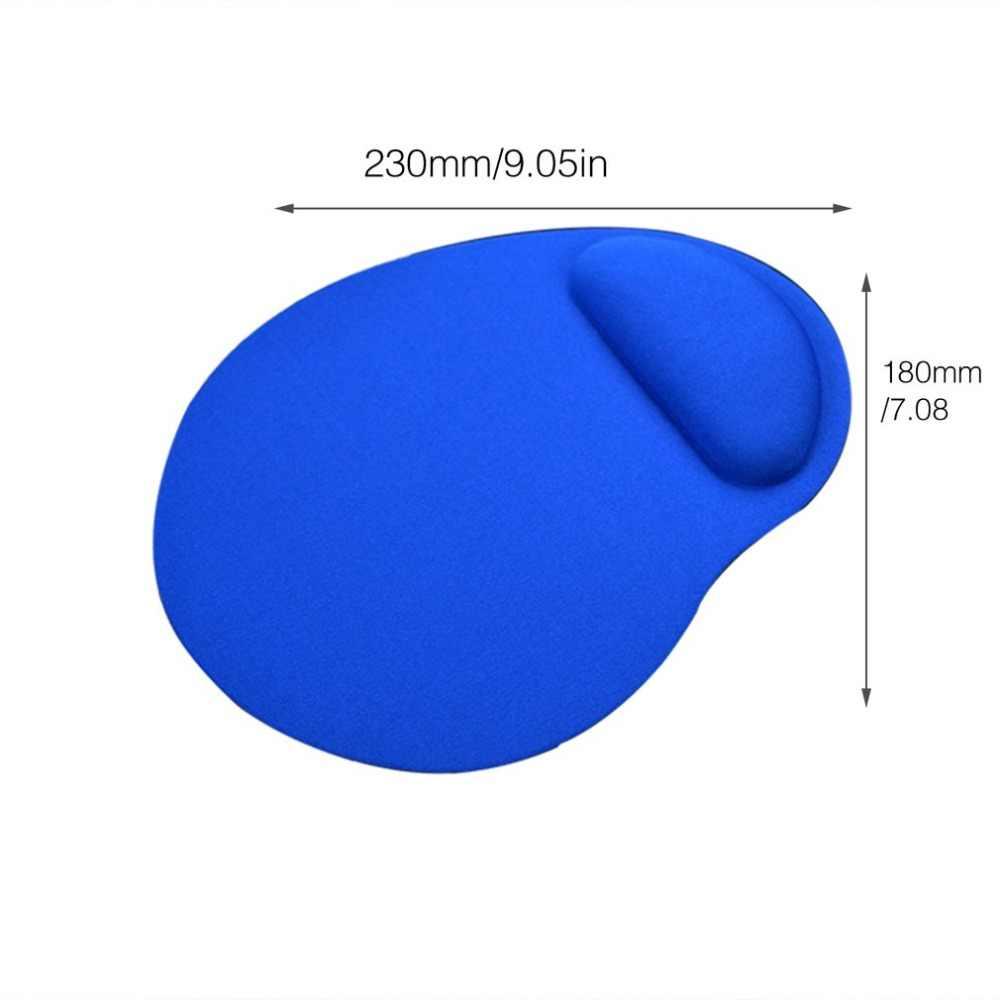 人間工学マウスパッド手首サポート Rest ソフト EVA マウスコンピュータアクセサリーマット抗スリップマウスマット