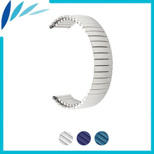 Stainless Steel Watch Band 16mm 18mm 20mm 22mm 24mm for Casio BEM 302 307 501 506 517 EF MTP Elastic Strap Loop Belt Bracelet