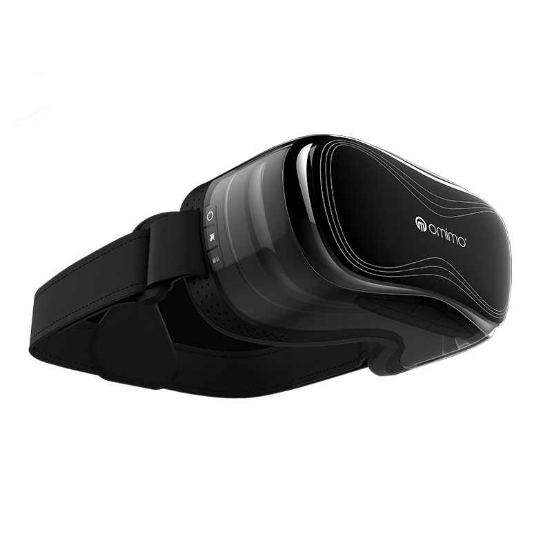 3f906eadd84e ... Omimo WiFi virtual reality VR helmet 3D three-dimensional Android virtual  reality glasses full hd ...
