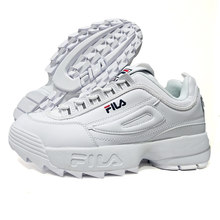 White Fila Disruptor II 2 Retro Platform Sneakers Men Running Shoes zapatos de mujer Height Increasing Outdoor sports shoes(China)