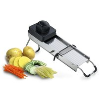 2017 Adjustable Mandoline Professional Vegetable Slicer Grater Fruit Cutter with 5 Interchangeable Blades Kitchen Accessories