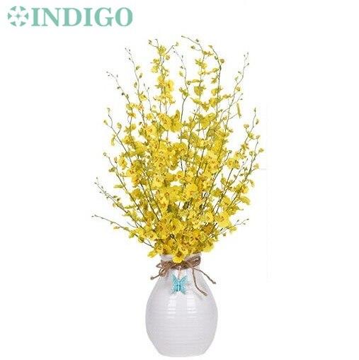 Indigo Wholesale 100pcs Yellow Little Dancing Lady Orchids 5