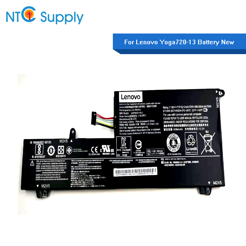 NTC Supply For Lenovo yoga 720-15Ikb L16C6PC1 L16M6PC1 L16L6PC1 Brand new Battery