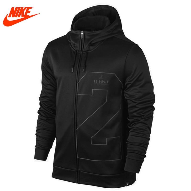 a167b2bafe16 Original New Arrival Official Nike Men s Spring New Air Jordan Basketball  Training Hooded Warm Windproof Jacket