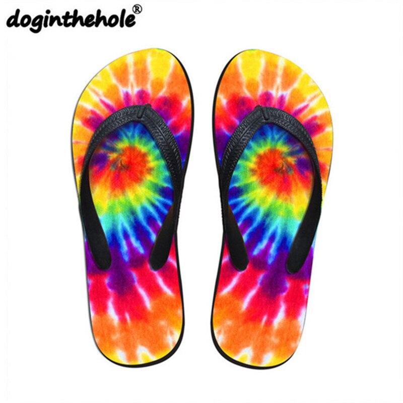 Doginthehole Flip Flops Women Flats Sport Sandals Shoes -6785