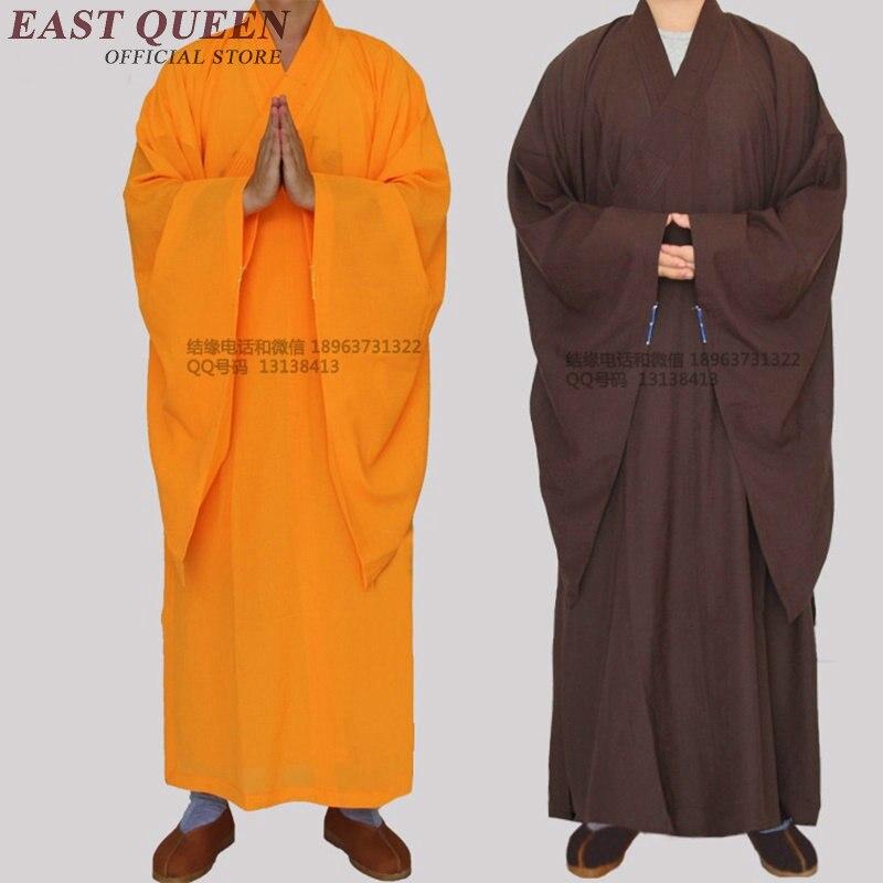 Vesti monaco buddista cinese shaolin vesti dei monaci shaolin abbigliamento monaco buddista monaco abbigliamento di alta qualità AA1093