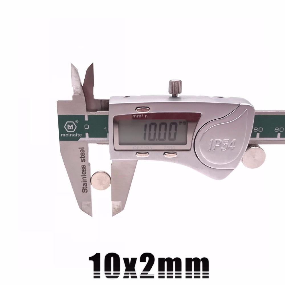 10/20/50/100 шт 10x2 мм супер мощный сильный Массовая Круглые неодимовые магниты NdFeB диаметром 10 мм x 2 мм N35 редкоземельный магнит 10*2