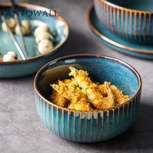 Глазурованная керамическая посуда antowall в нордическом стиле