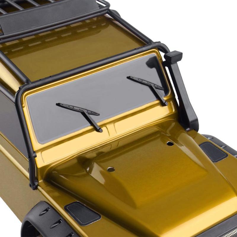 5 in 1 Door Handle Wiper Reflector for 1//10 RC Crawler Car Traxxas TRX4 N#S7