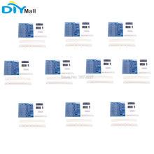 10 pçs/lote SMT Componentes SMD de Prática de Soldagem Solda Placa Formação Iniciante DIY Kit de Aprendizagem
