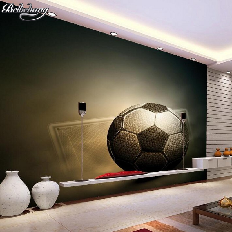 Beibehang 3D Football Wallpaper Sport Photos Wallpaper