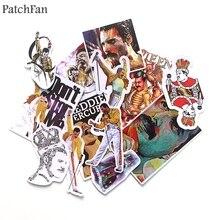 Parches 13 Uds. Pegatinas vintage de Freddie Mercury para álbum de recortes, juguetes para niños DIY, teléfono, portátil, motocicleta, pegatinas impermeables A1604