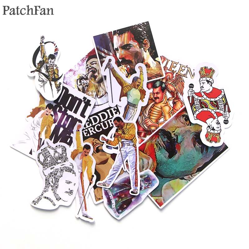 Patchfan 13pcs Freddie Mercury vintage decals scrapbooking Kids font b Toy b font for DIY font