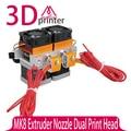 3D Головка Принтера Последнее Обновление Makerbot MK8 Экструдер Сопла 0.4 мм Двойной Печатающей Головки Для 3d-принтер