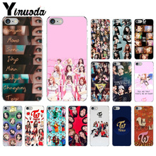 Yinuoda Twice Mina Momo Kpop Newly Arrived Transparent Cell Phone Case for Apple iPhone 7 6 6S Plus X XS MAX 5 5S SE XR 8 Cover стоимость