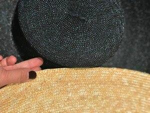 Image 5 - Axi01807 夏撮影モデルファッションショーキャットウォーク 35 センチメートル風つばレジャービーチ女性ウェディングキャップ女性の休日太陽の帽子
