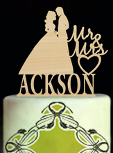 Personalised Wedding Cake Toppers,Cake Toppers For Weddings,Mariage Wood Mr & Mrs Custom Cake Toppers,Modern Toppers