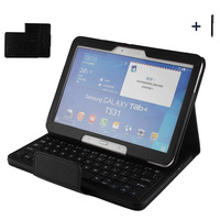 Wireless Bluetooth Keyboard For Samsung Galaxy Tab 4 10.1 Case For Galaxy Tab4 10.1 T530 Tablet Flip Leather Stand Cover +Pen