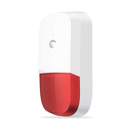 Etiger Wifi GSM Alarme de Segurança Casa Sistema De Alarme com Pet Imunidade PIR sensor de movimento e Flash Strobe Sirene ao ar livre