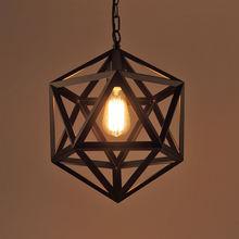 Американские шестигранные лампы винтажные светильники для чердака