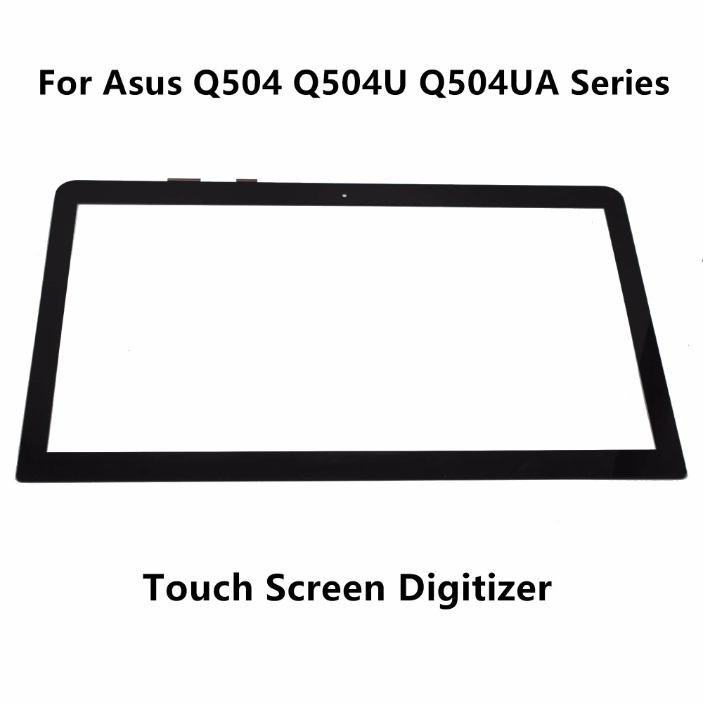 15.6 inch Touch Screen Panel Digitizer Sensor Glass Replacement For Asus Q504 Q504U Q504UA Series Q504UA-BHI7T21 Q504UA-BHI5T13 15 6 inch touch screen panel digitizer sensor glass replacement for asus q504 q504u q504ua series q504ua bhi7t21 q504ua bhi5t13