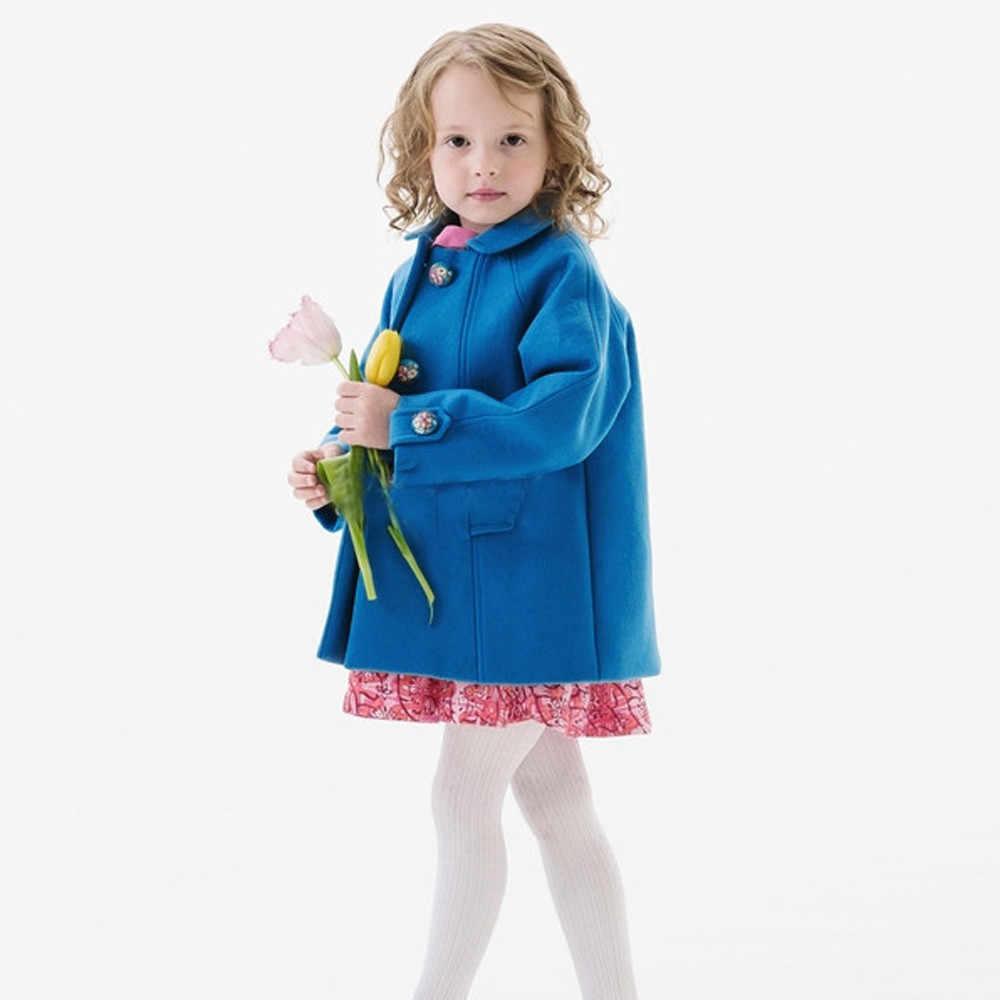 ファッションコート暖かいキッズガールズファッション素敵なソフトシェルジャケット上着子供ウインドブレーカーコート服 пальто для девочки