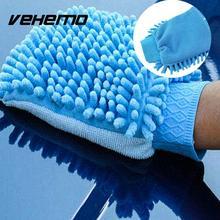 Vehemo Чистящая губка стиральная перчатка для автомойки полотенце для рук из микрофибры