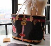 2018 Новая натуральная кожа модная neverful сумка женская сумка GM/мм с хорошего качества сумки мм Сумка Бесплатная доставка