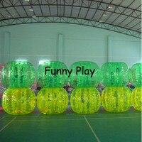 Дети тела Zorb Пузырьковые шарики Экологичные ПВХ Zorb шары шарики в виде мяча для футбола человеческий молоток тела Zorb мяч