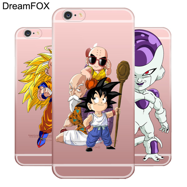Dragon Ball Goku Soft TPU Silicone Case Cover iPhone Models