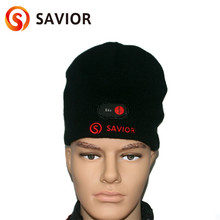 Outdoor Sports Caps Battery Heated Knitting Hat Windproof Winter Warmer for Head Powered Heating Men and Women Fishing Caps цены онлайн