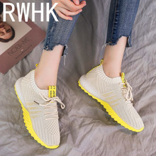 RWHK Sports shoes female tide wild Korean students 2019 new mesh casual light summer breathable running B388