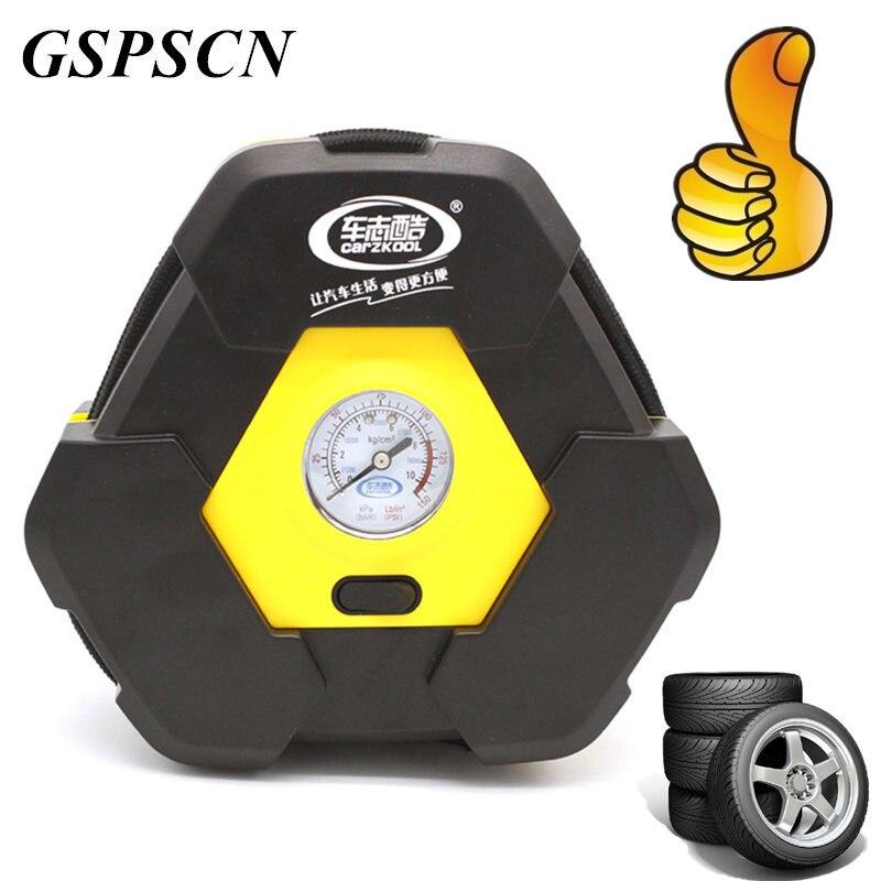 Caliente 100PSI Car Auto Portable Bomba del Neumático Del Compresor de Aire Eléc