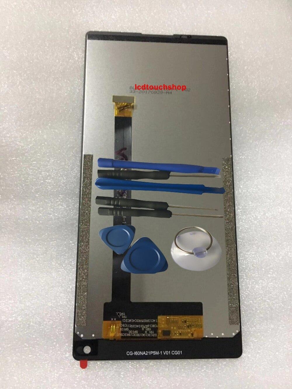 RYKKZ Pour Vernee MIX 2 Écran LCD Avec Écran Tactile Digitizer Assemblée de Remplacement Avec Des Outils