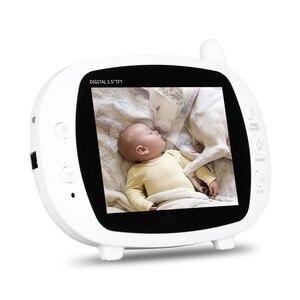 Image 3 - Babyphone Camera bezprzewodowa elektroniczna niania z kamerą cyfrowe monitorowanie temperatury w podczerwieni bezpieczeństwo Baba kamera Eetronica