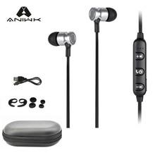 Aniwk2017 Deporte auricular bluetooth Auriculares Inalámbricos Bluetooth 4.1 Con Micrófono Estéreo Bass Music Portable para El Lanzamiento de Nuevos