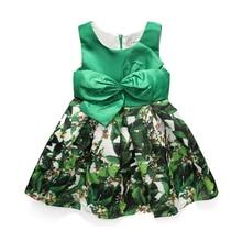 2017 nouveau enfants robes pour les filles parti de mariage d'été fille tutu robe 10 ans Bébé Filles Robe