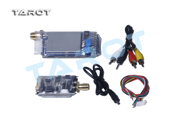 TAROT 5.8G 600mW FPV Wireless image transmission Video A/V Tx Rx set TL300N
