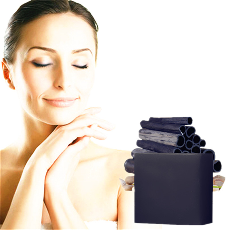 Bamboo Charcoal Strong Cleaning Blackhead Freckle Scar Removal Retinol Beauty Soap Melasma Pigment Melanin Acne Spots Sun Spots